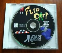 Flip Out! Preview Copy Atari Interactive Prototype Windows 95 DOS PC Rare Demo!