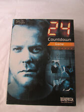 24 Jack Bauer COUNTDOWN Board Game TV Show Complete