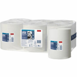 Tork 151131 Wiping Paper Centrefeed case of 6 1 ply Business Washroom Cleaning