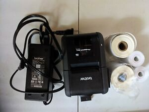 rj 2150 brother printer and labels lightly used