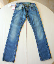 NEUF Jean Jeans Bleu Denim Coupe Droite Fille T10/25 FORNARINA
