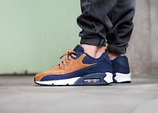 Nike Air Max 90 PRM 'Ale Brown' 700155-201 Mens Sz 11.5 Ale Brown/Midnight Navy