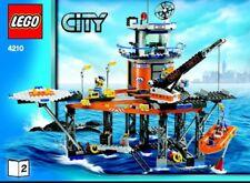 Lego City 4210 Coast Guard Platform 2008 Rare New And Sealed