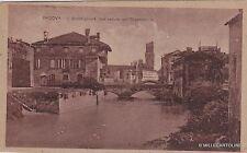 # PADOVA: IL BACCHIGLIONE CON VEDUTA DELL'OSSERVATORIO  1919