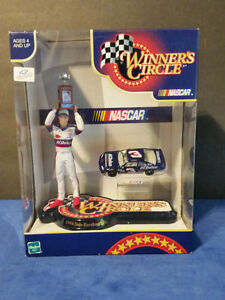Dale Earnhardt Jr. #3 AC-Delco Victory Circle Figurine and Diecast Car