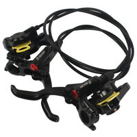 22MM MTB Hydraulische Scheibenbremse Vorne Hinten Bremssättel Bremshebel Set