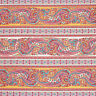 100% Cotton Fabric by FQ Vintage Paisley Retro Floral Stripe Dress Quilting VK69