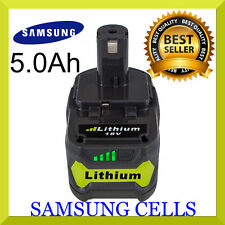 to fit RYOBI  ONE+ 18V  5.0 Ah Lithium Battery (RB18L50) + WARRANTY