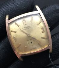 Cauny Hand Manual Winding Vintage Watch Non Working Watch 29,2 Mm.