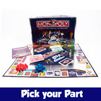 PICK YOUR PARTS - Monopoly Fifa World Cup 98 Board Game - SPARES / REPLACEMENTS