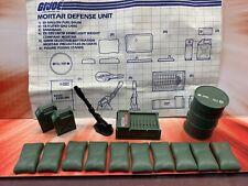 Vintage GI Joe Mortar Defense Unit ~ 1984 ~ Complete with Blueprints