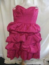Ladies Prom Dress Kelsey Rose UK 14, colour fuchsia, puffy skirt, bodice 2238