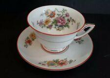 Vintage Thomas Bavaria FANTASY Cup and Saucer Porcelain