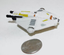 Small Micro Machine Plastic Diamond Shaped Space Ship