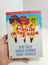Singin' in the Rain (Dvd) 2-Disc Special Edition Good Condition Free Ship