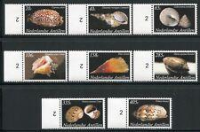 Niederländische Antillen 2008 Meeresschnecken Sea Shells 1657-1664 I MNH