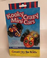 Kooky Crazy Mini Cars Creativity For Kids Craft Kit