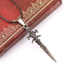 Cool Unisex Metal Sword Pendant Necklace Chain Men Jewelry 1pc
