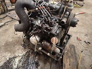 Yanmar 3TN66 Diesel Engine RUNS EXC! VIDEO! 3TK.66 John Deere Tractor