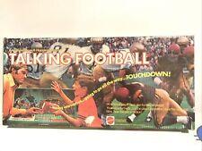 Vintage 1971 Mattel Talking Football Game In Original Box  *READ*