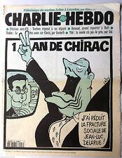 """Charlie hebdo n°203 du 7/05/1996: """"Télé; la merde n'a pas de prix"""" par Val"""