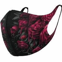 Spiral Direct BLOOD ROSE - Protective Face Masks Isolation/Mask/Wrap/Reusable