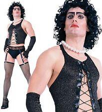 Mens Frank N Furter Rocky Horror Picture Show Fancy Dress Costume Halloween