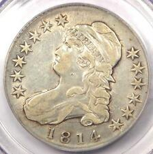 1814 Capped Bust Half Dollar 50C O-109 - Pcgs Genuine - Xf Details - Rare Coin!