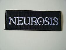 NEUROSIS PATCH Embroidered Iron On Hardcore Doom Godflesh Sunn O))) Badge NEW