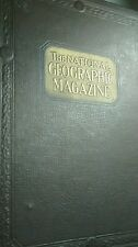 Rare Vintage The National Geographic  Magazine Book