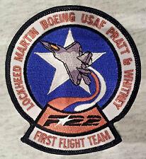 F 22 US AIR FORCE US NAVY US MARINES Patch Aufnäher LOCKHEED USAF MILITARY 11