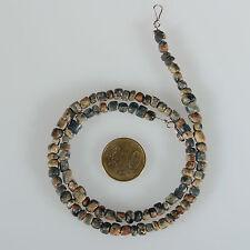 8899 Halskette aus alten Ausgrabung Glasperlen