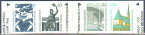 BRD 1531-1534 ** SK geschnitten, aus Markenheftchen, einwandfrei postfrisch