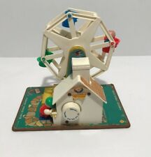 Fisher Price Little People Ferris Wheel Music Movement Box Vintage 1964 # 969