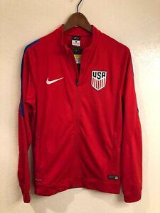NWT USA Soccer authentic Nike Squad Anthem Jacket (size: S)