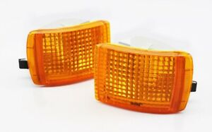 ★ NEW Ford Sierra Cosworth RS500 XR4i Front Turn Signal Lenses Pair Indicators ★
