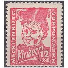 """SBZ Nr. 28 postfrisch ** """"Abart verwischte Inschrift"""""""