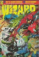 ORIGINAL Vintage Aug 1994 Wizard Magazine #36 Spiderman Lizard