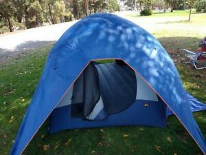 Rei Geo-4 Dome Tent, 4 person, with HI-TEC Rain cover only. !!NO POLES!! READ