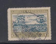 Liberia # 211 German SEEPEOST Cancel Ship