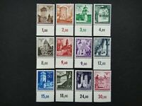 Germany Nazi 1940 1941 Stamps MNH Swastika Eagle Generalgouvernement WWII Third