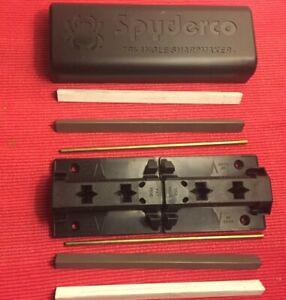 Spiderco Knive Sharpener System Tri-Angle 2 Fine 2 Medium