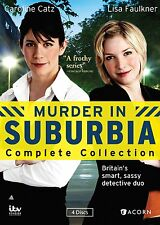 Murder In Suburbia . The Complete Series Collection . Season 1 + 2 . 4 DVD . NEU