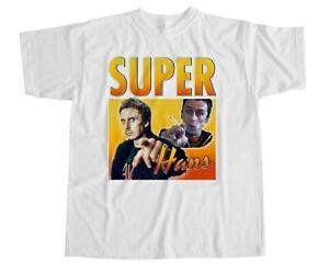 Super Hans T Shirt Peep Show Mark Jeremy Homage Usbourne Corrigan Funny