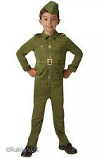 Kids WW2 Solider Boys Fancy Dress World War One Child Uniform Army Costume
