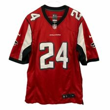 NIKE NFL Falcons FREEMAN 24 Red Short Sleeve Shirt Size M N42