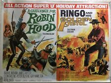 A Challenge For Robin Hood /Ringo And His Golden Pistol Dble Quad 1967 Chantrell