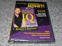 Rich Dad: Budgeting Your Money - Robert T. Kiyosaki NEW SEALED Multimedia CD-ROM