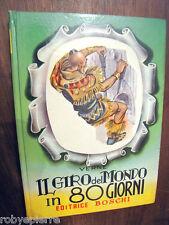 Il giro del mondo in 80 giorni Giulio Verne Editrice Boschi 1955 Guido Zamperoni