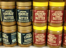8 TRADER JOES SPECULOOS COOKIE BUTTER * 4 CRUNCHY & 4 REGULAR * FREE SHIPPING